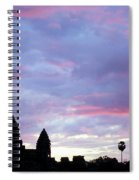 Angkor Wat Sunrise 02 Spiral Notebook