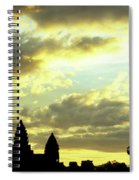Angkor Wat Sunrise 03 Spiral Notebook