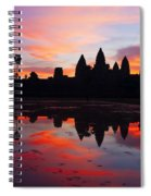 Angkor Wat Sunrise Spiral Notebook
