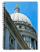 Angle On The Capitol Spiral Notebook