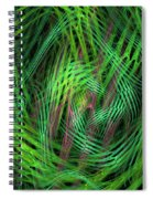 Angle Worms Spiral Notebook