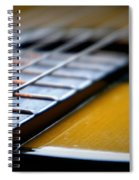 Angled Acoustic Guitar  Spiral Notebook
