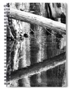 Angles And Reflections Spiral Notebook