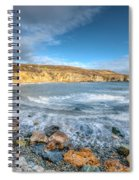 Anglesey Seascape Spiral Notebook