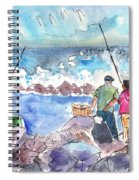 Angling In Gran Canaria Spiral Notebook