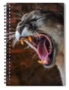 Angry Cougar Spiral Notebook