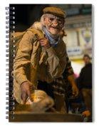 Grotesque  Spiral Notebook