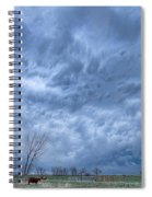 Angry Skies Spiral Notebook