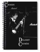 Angus Chords Delight Crowds Spiral Notebook