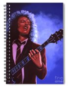 Angus Young Of Ac / Dc Spiral Notebook