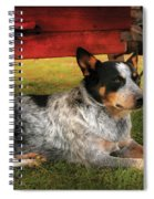 Animal - Dog - Always Faithful Spiral Notebook