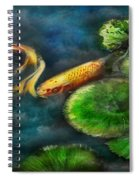 Animal - Fish - The Shy Fish  Spiral Notebook