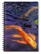 Animal - Fish - There's Something About Koi  Spiral Notebook