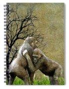 Animal - Gorillas - Isn't Love Grand Spiral Notebook