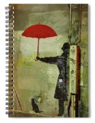 Animal Lover In Paris Spiral Notebook