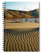 Animal Tracks In The Sand Spiral Notebook