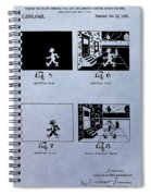 Animation Patent Spiral Notebook
