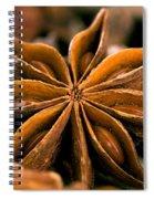 Anise Star Spiral Notebook
