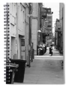 Ann Arbor Alley Spiral Notebook