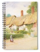 Ann Hathaway's Cottage Spiral Notebook