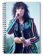 Ann Wilson Of Heart At 1981 Day On The Green In Oakland Ca Spiral Notebook