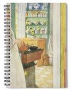 Anna Arnbom , Pub. In Lasst Licht Hinin Spiral Notebook