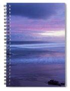 Anna Bay Sunset Spiral Notebook