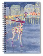 Annabelle On Ice Spiral Notebook