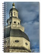 Annapolis Statehouse Spiral Notebook