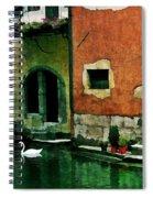 Annecy Swan Spiral Notebook