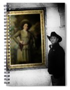 Annie Oakley With A Cowboy Spiral Notebook