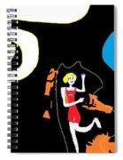 Annie Skipping Time Spiral Notebook
