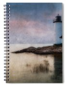 Annisquam Harbor Lighthouse Spiral Notebook