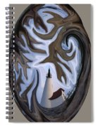 Annisquam Lighthouse Fantasy Spiral Notebook