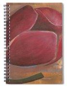 Anniversary Flower Spiral Notebook