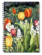 Ann's Tulips Spiral Notebook