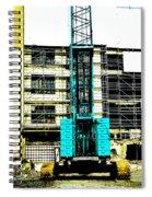 Another Blue Crane  Spiral Notebook