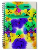 Another Blueprint In Abstract Spiral Notebook