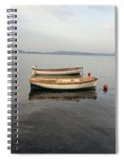 Another Boat Spiral Notebook