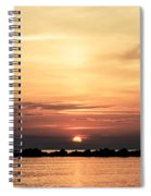 Another Earth - Sunrise On The Sea Spiral Notebook