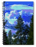 Another Fine Day On Planet Earth Spiral Notebook