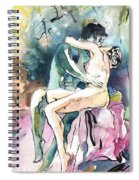 Another Kiss Spiral Notebook