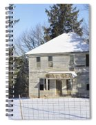 Another Lonely Winter Spiral Notebook