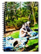 Another Luncheon On The Grass Spiral Notebook