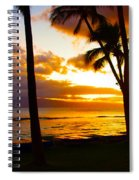 Another Maui Sunset Spiral Notebook