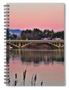 Another Pink Morning 2 Spiral Notebook