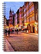 Another Prague Night - Czech Republic Spiral Notebook