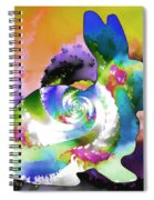 Another Rabbit Hole For Alice Spiral Notebook