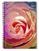 Another Rose Spiral Notebook