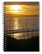 Another Sunset At Bodega Spiral Notebook